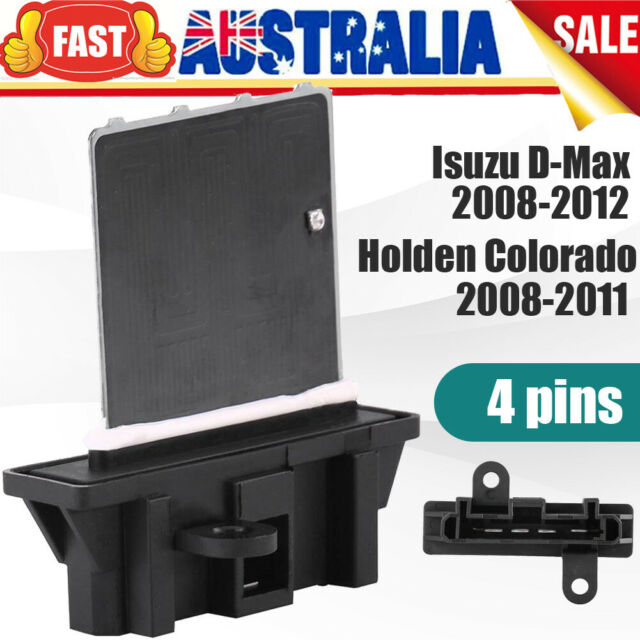 4 pins Blower Motor Heater Fan Resistor for Holden Colorado Isuzu D-Max 08-11 AU