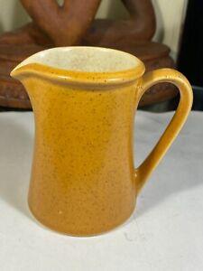 """Premiere Dura Stone Orange P9200 Speckled Vintage Creamer Pitcher  4 1/4"""""""