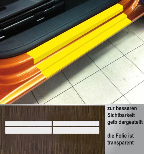 ab 2015 2-Türer Lackschutzfolie transparent Einstiege Türen für VW Caddy 4