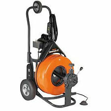 General Wire Speedrooter 92 Drainsewer Cleaning Machine With 100 X 58 Cable Amp