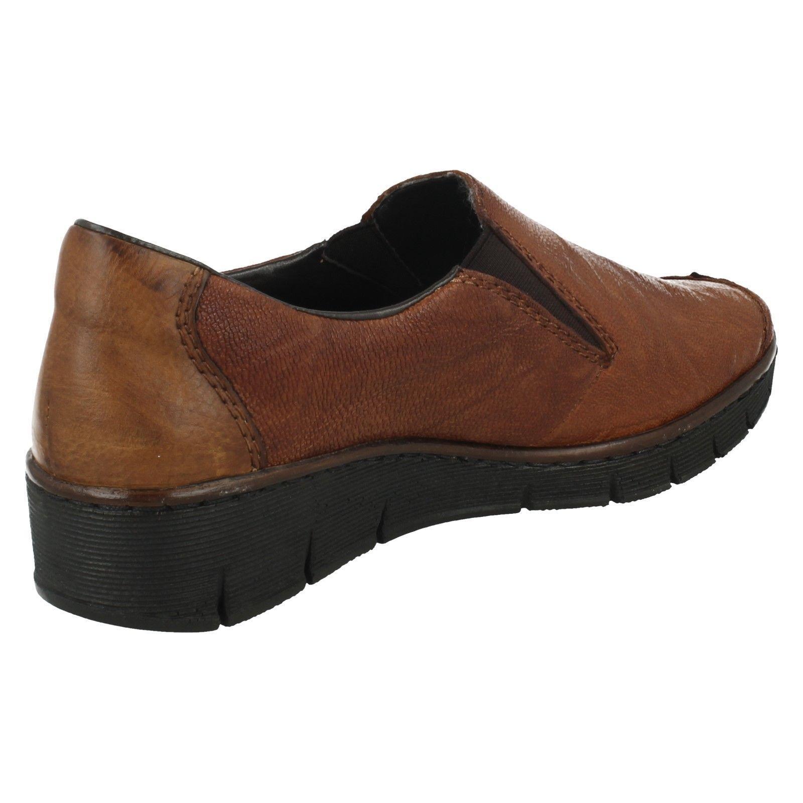 Damen Rieker' Keilabsatz Keilabsatz Keilabsatz Schuhe - 53783 626002