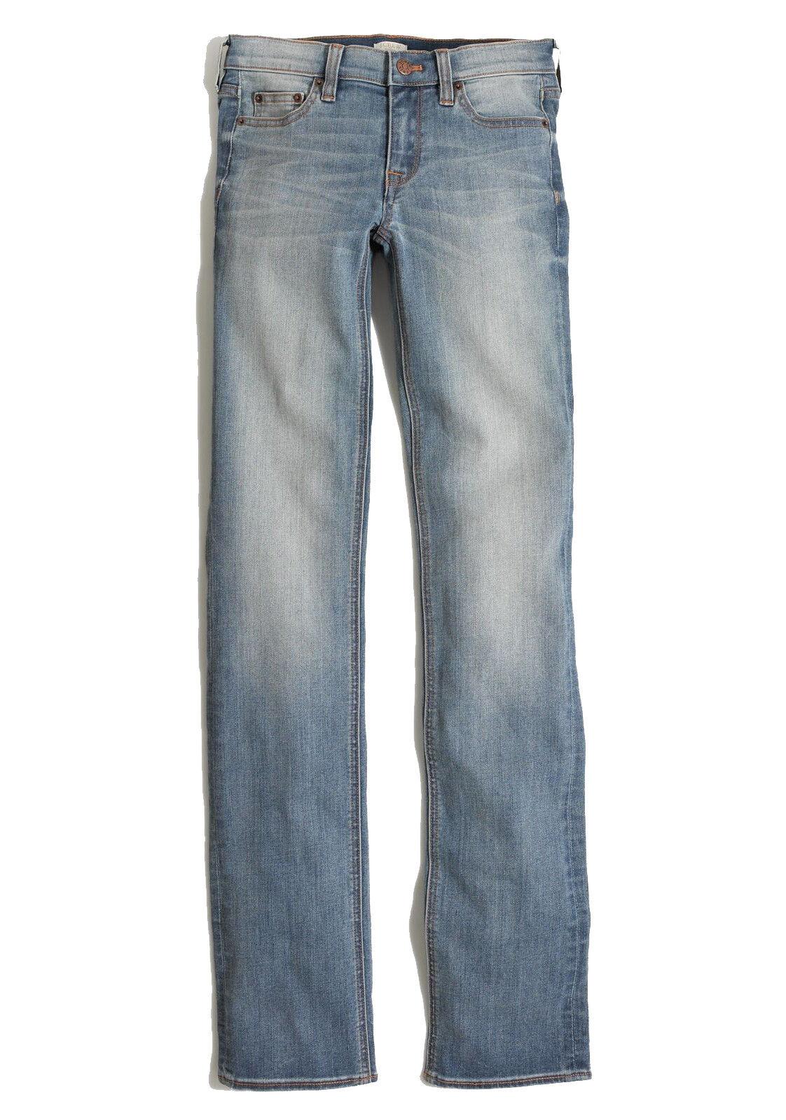 J.Crew Factory - Women's 32 (14) - NWT - 33  Davidson Wash Straight Leg Jeans