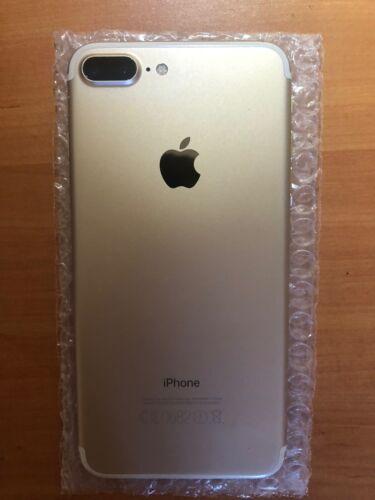 Chasis Trasero Iphone 7 plus Gold Original con Camara y componentes.