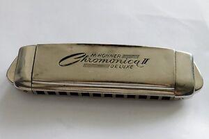 Antique German Harmonica M. HOHNER Chromonica De Luxe 1930 ...