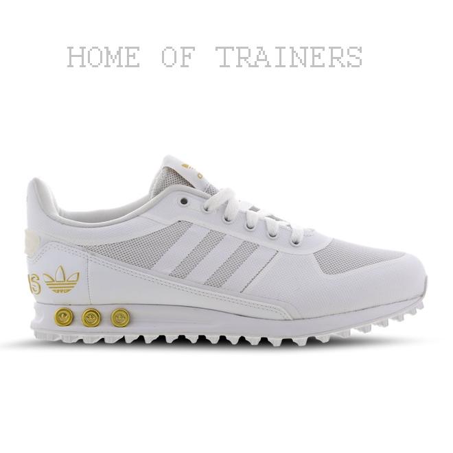 Turnschuhe Weiß La Gold Adidas Alle Größen Turnschuhe Herren Y7by6fg
