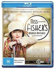 MISS FISHER'S MURDER MYSTERIES - SEASON 2 - Blu Ray - Sealed Region B for UK