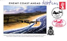 Closure RAF Scampton 617 Sqn Signed L C Doyle 617 Sqn Flight Engineer