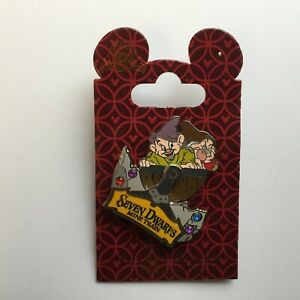 WDW-Seven-Dwarfs-Mine-Train-with-Dopey-amp-Grumpy-Disney-Pin-100410