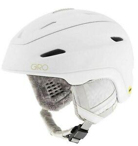 New-GIRO-STRATA-MIPS-Ski-Helmet-Women-s-Med-MIPS-BRAIN-Protection-Matte-White