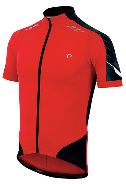 Pearl Izumi 2016 P.r.O. PRO In-R-Cool Bike Jersey True Red Shadow Grey - Small