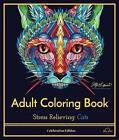Stress Relieving Cats: Adult Coloring Book, Celebration Edition by Blue Star Premier, Katy Lipscomb (Paperback / softback, 2016)