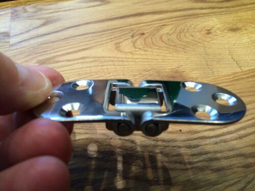 2 Stück Edelstahl Tisch-Scharnier 80x30mm