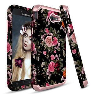 uk availability df5e1 8a37a For Samsung Galaxy J7 V/Prime/Sky Pro/Perx Hybrid Rugged Armor Phone ...