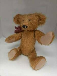 """Rare Vintage 9"""" OOAK Mohair Teddy Bear by Artist Patty Thomas """"Pitty Patch"""" 1996"""