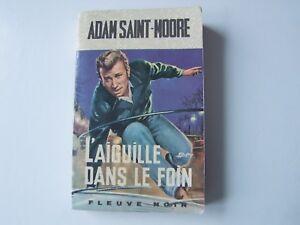 Details Sur Livre Johnny Hallyday 1967 L Aiguille Dans Le Foin Adam Saint Moore