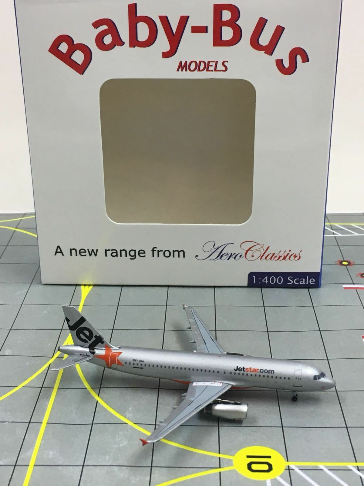 RARE AeroClassics 1 400 Jetstar Airways Airbus A320-200 9V-JSA  2000s color