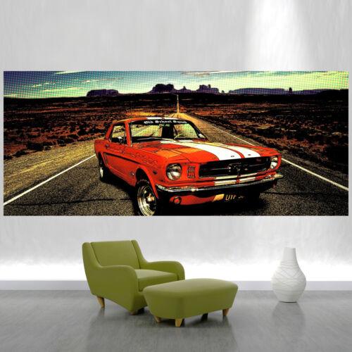 Fototapete Vlies und Papier Tapete Ford Mustang Nr DS343