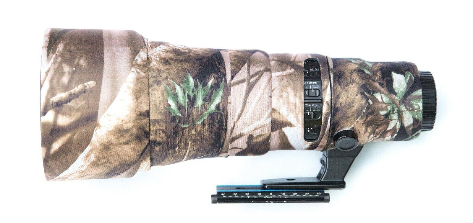 Camouflage Lens Cover for Nikon 500mm f/5.6E PF ED VR ( Neoprene Camo )