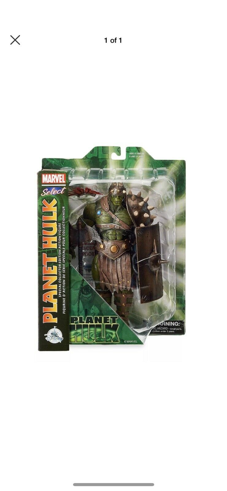 Marvel Select Planet Hulk Exclusive 10