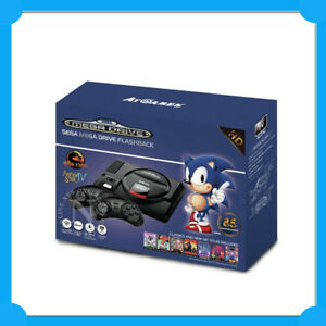 SEGA Mega Drive Flashback HD Game Console 85 Built-in ...