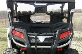 Details about Back Panel w/ Vinyl Window ~ CF MOTO ZForce 800 + 500 UTV  Enclosures ~ 3 Colors