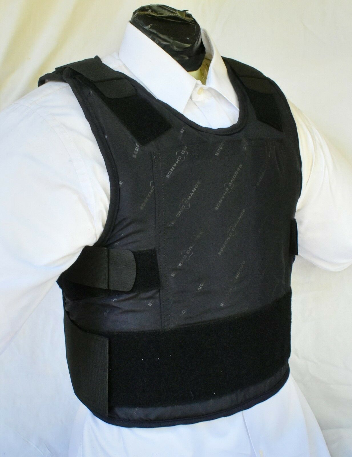 4XL IIIA Lo Vis   Concealable Body Armor Carrier BulletProof Vest with Inserts