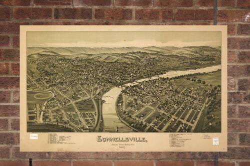 Vintage Connellsville P Aerial Connellsville Photo Vintage Connellsville Print