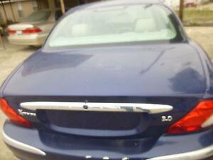 Jaguar X Type 2001 2002 2003 Trunk Lid Chrome Molding Ebay
