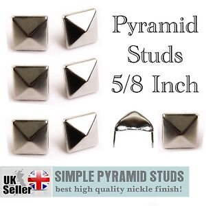 New-High-Quality-Loose-Pyramid-Studs-For-Leather-Craft-Shoe-Belt-Cloth-Big-Qty