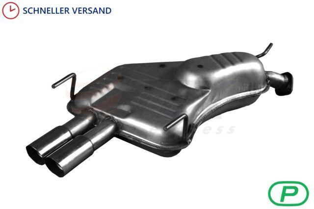 Opel Vectra B /& Caravan Kombi Endtopf Auspuffanlagen Abgasanlage Auspuff hinten