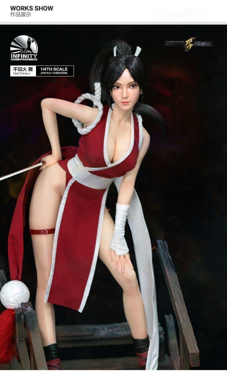 SNK PLAYMORE The King of Fighters Figur Mai Shiranui 1 4 Limitada De Resina Estatua