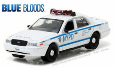 GREENLIGHT 1:64 2001 FORD NEW YORK CITY POLICE (NYPD) BLUE BLOODS CAR 44760-D