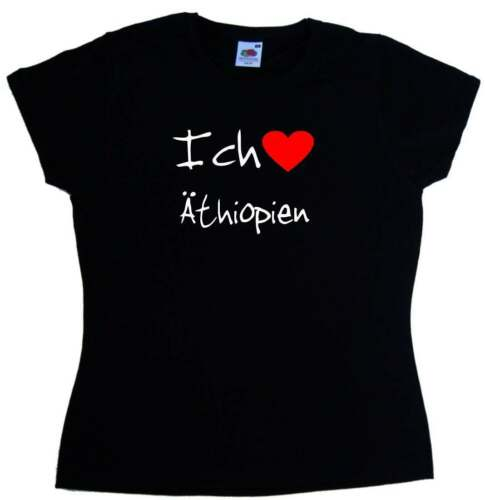 Ich Liebe Äthiopien Damen T-Shirt