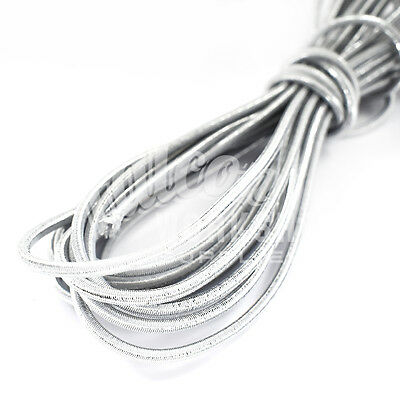Outdoor Sports Industrious 3.0mm X 10m Silver Bungee Elastic Shock Cord Clothing Jewellry Crafts Sewing Neither Too Hard Nor Too Soft Ropes, Cords & Slings