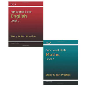 Details about Functional Skills Study & Test Level 1 Practice Collection 2  Book Set,English PB
