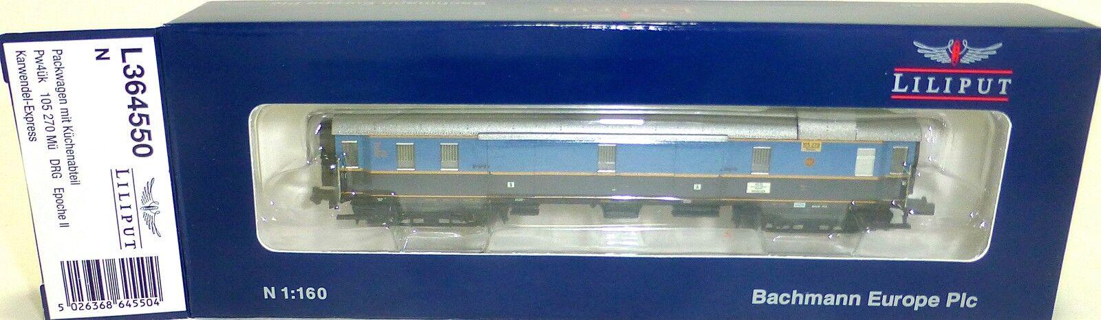 Karwendel Express Vagone per Borsaagli Pw4ük DRG Epii Liliput L364550 N 1:160