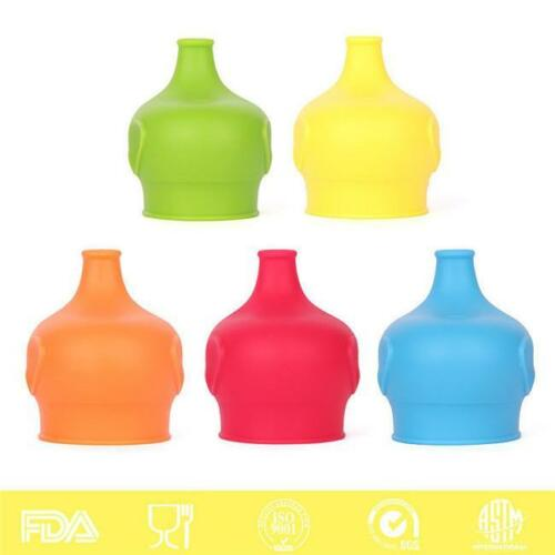 Heathy Anti-overflow Toddler Cup Lid Food Grade Silicone For Baby Drinking Y2