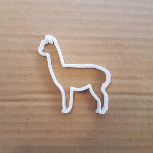 Alpaca Cookie Cutter Biscuit Dough Pastry Animal Llama Shape Stencil Suri