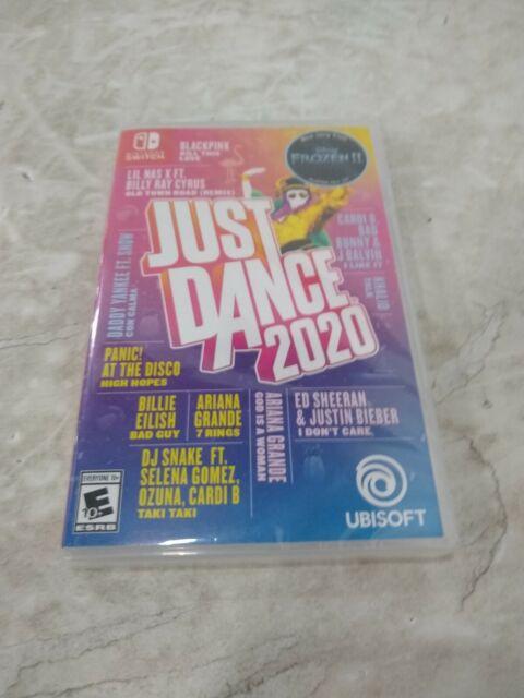 Just Dance 2020 Nintendo Switch Ubisoft Dancing Fitness Workout