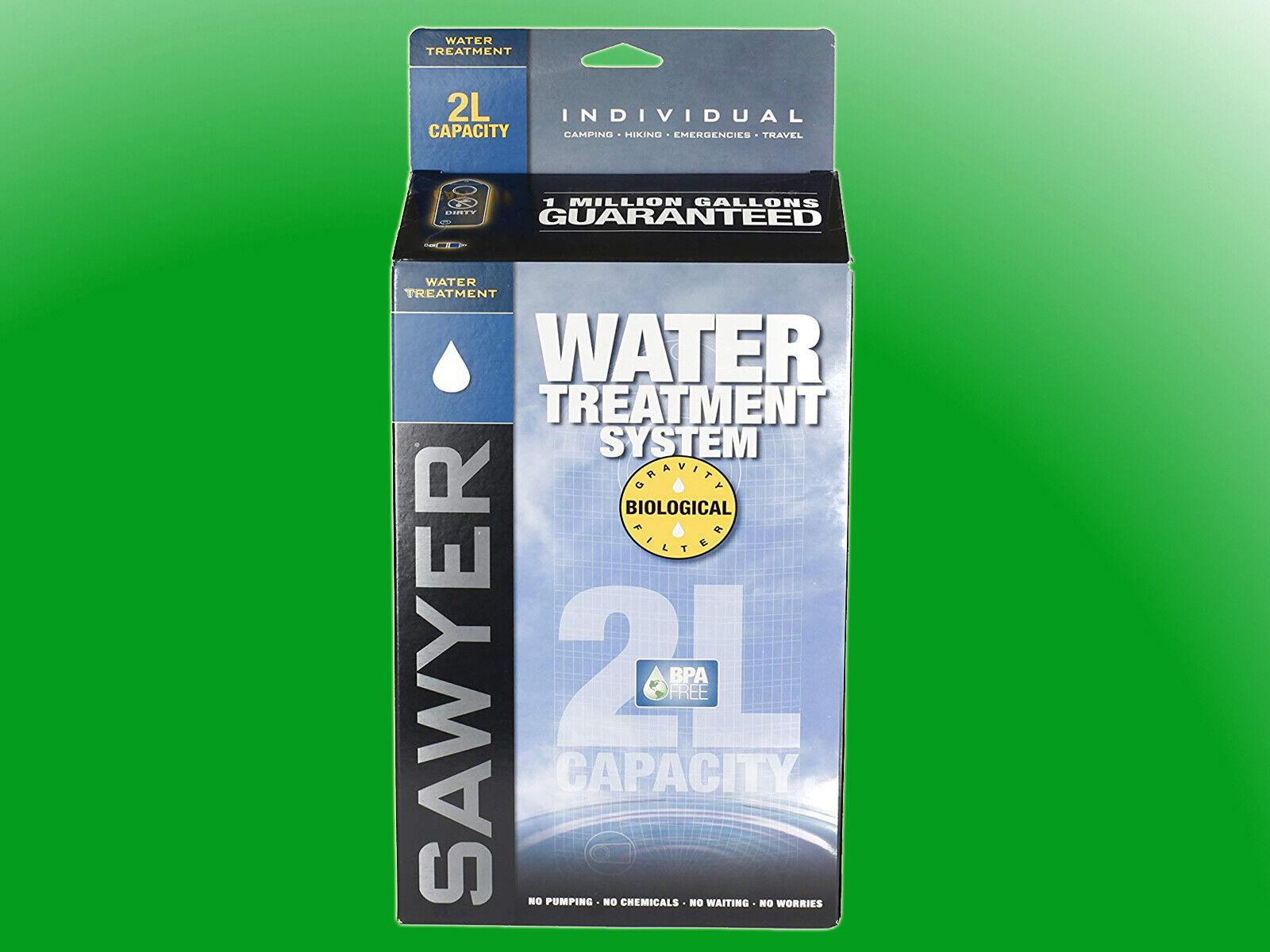 Sawyer 2 Liter TreatSiet System SP161 Schwercraftfilter f deck 65533r;