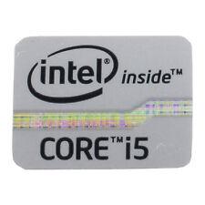 Intel inside CORE i5 Sticker - Aufkleber silber
