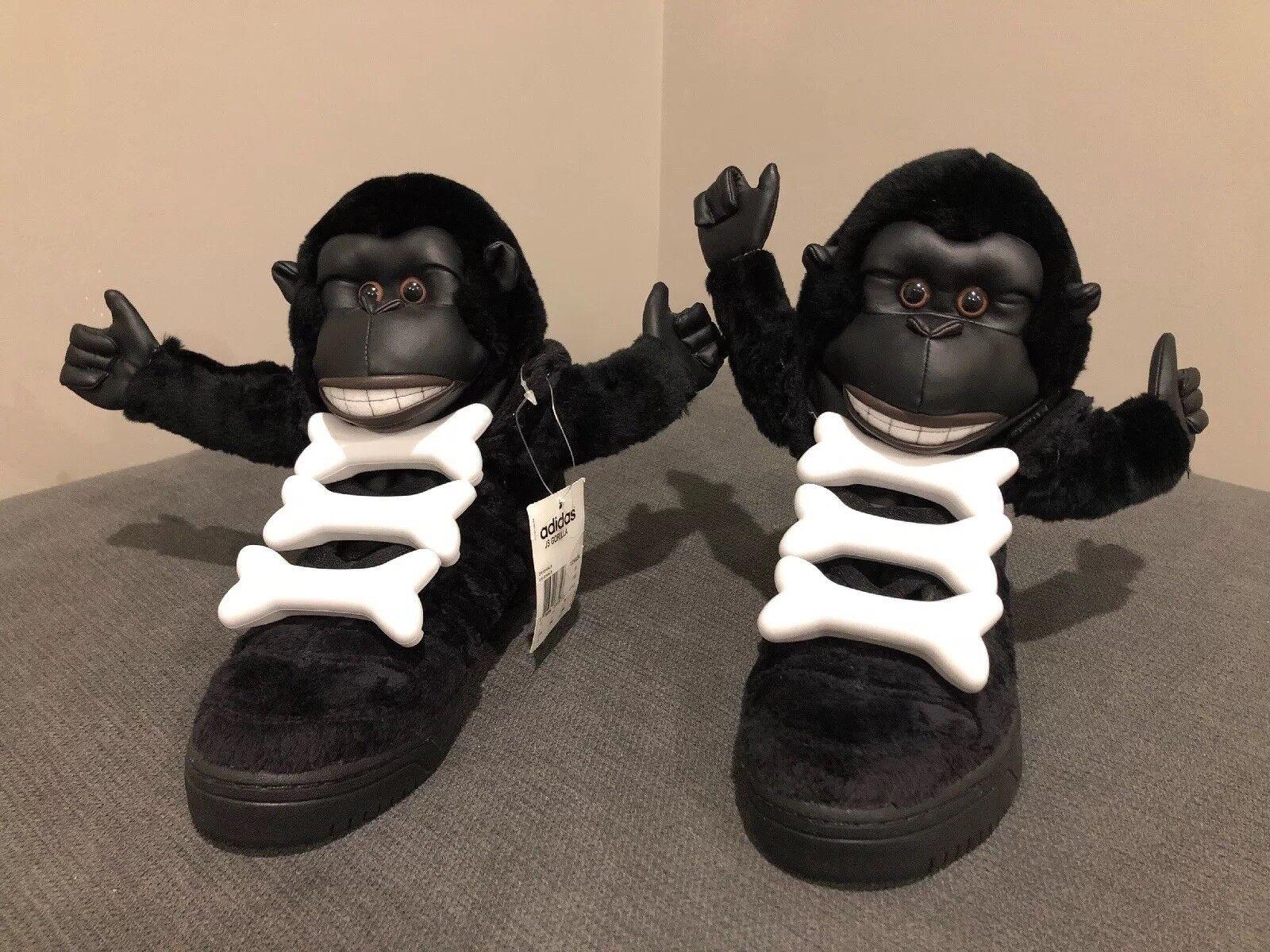 Adidas, Jeremy Scott, Gorilla Bones, Size 11.5, RARE
