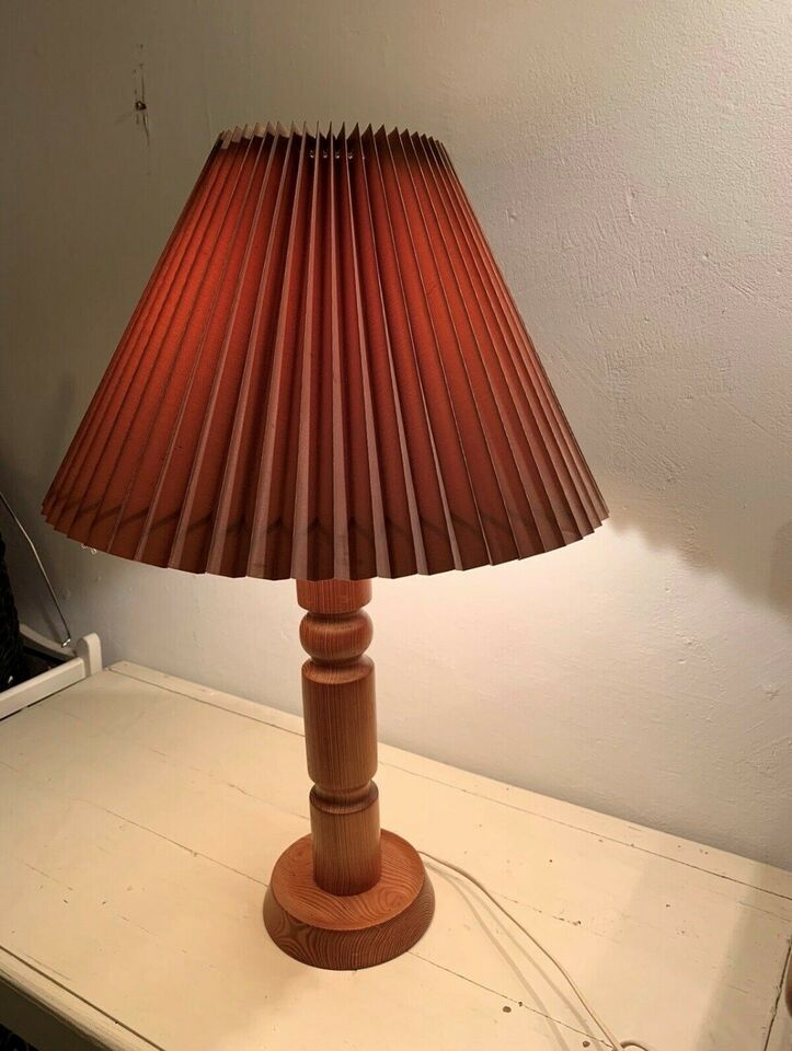 Anden bordlampe, Retro / træ /