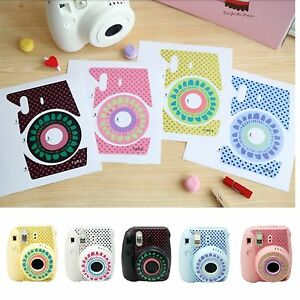 Cute-Floral-Stickers-Decoration-Polaroid-Fuji-Film-Instax-Mini-8-Camera-Fujifilm