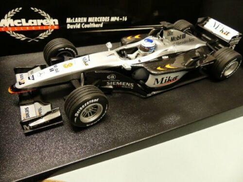 1//18 Minichamps McLaren MP4-16 Häkkinen F1 2003 SONDERPREIS 39,99 €