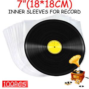 100pcs-Clear-Plastic-7-034-LP-LD-Inner-Sleeves-Record-Cover-Vinyl-DVD-Bag-18X18cm
