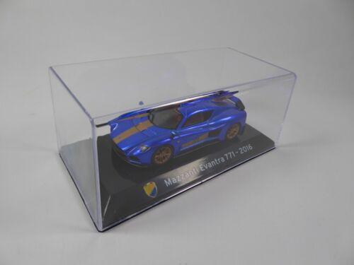 Mazzanti Evantra 771 2016-1:43 IXO Supercars Model Diecast Italian Edition S70