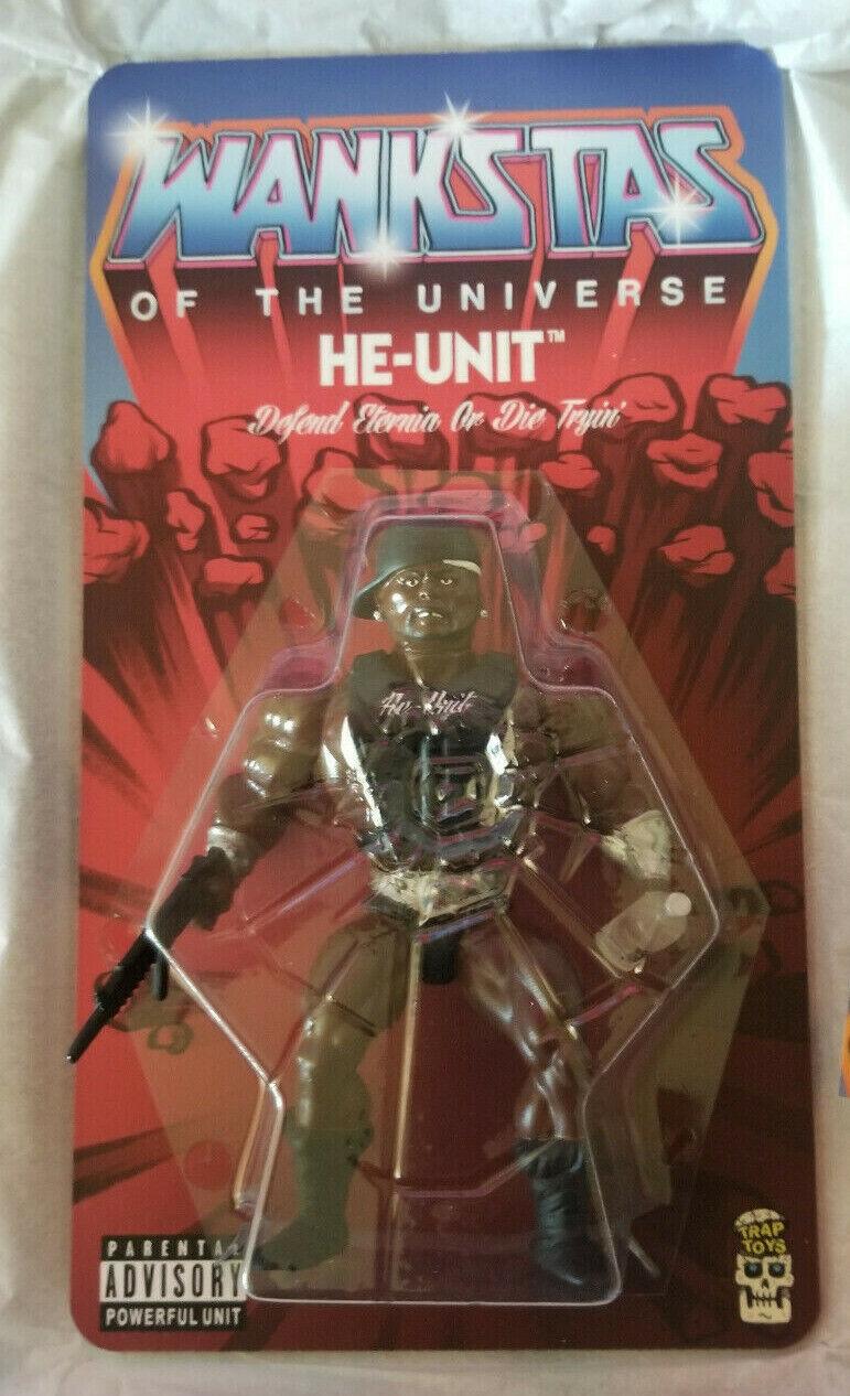 Trap legetøjs 50 Cent Wankstas of the Universe Figur He-Unit Plus extra