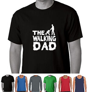 The-Walking-Dad-The-walking-dead-Parody-Fathers-day-baby-Present-Funny-T-Shirts