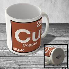 MUG_ELEM_054 (29) Copper - Cu - Science Mug